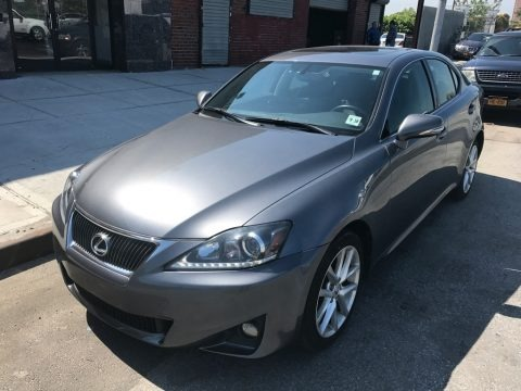 Nebula Gray Pearl 2013 Lexus IS 250 AWD