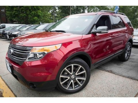 Ruby Red 2015 Ford Explorer XLT 4WD