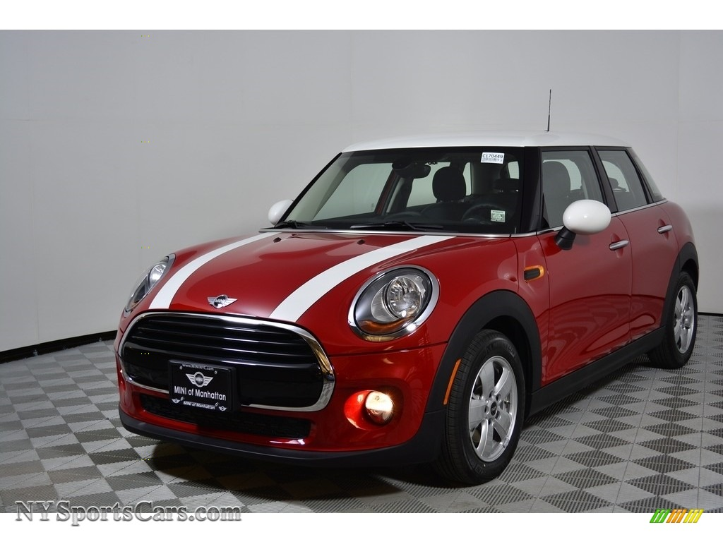 2017 Hardtop Cooper 4 Door - Blazing Red Metallic / Carbon Black photo #1