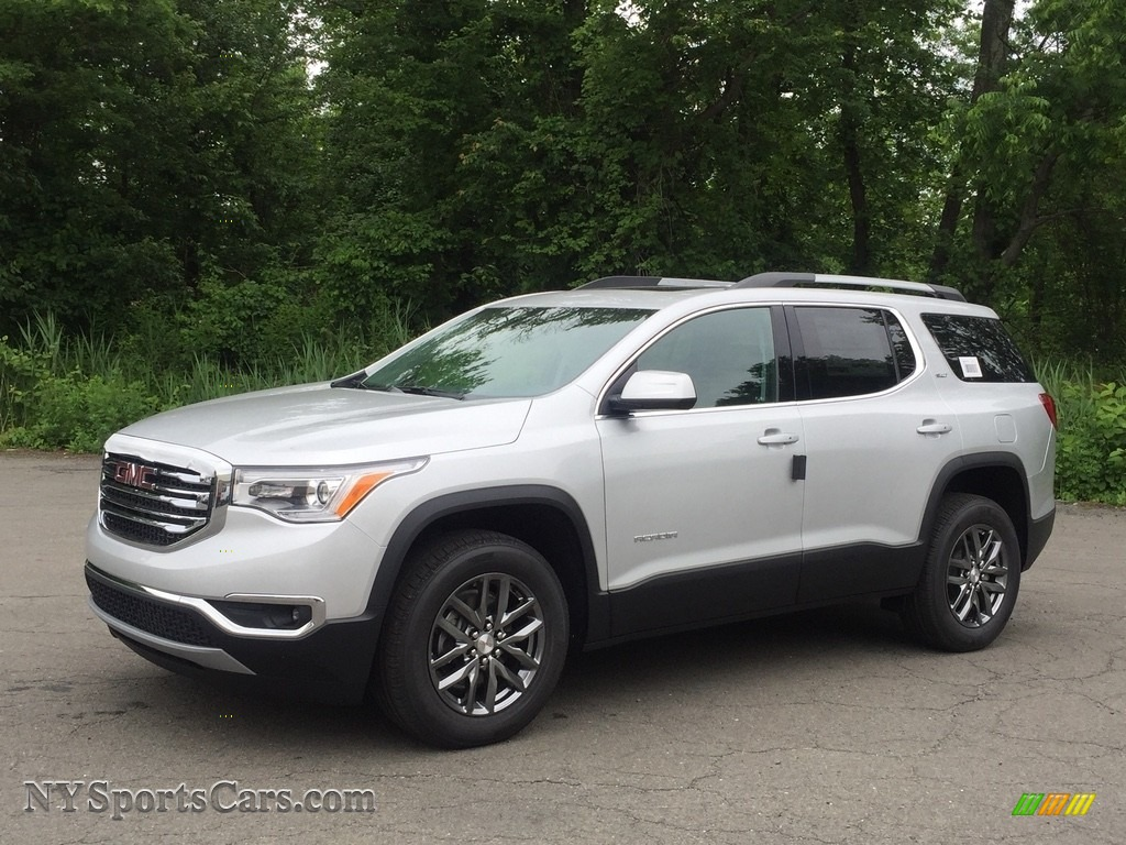 2017 Acadia SLT AWD - Quicksilver Metallic / Jet Black photo #1