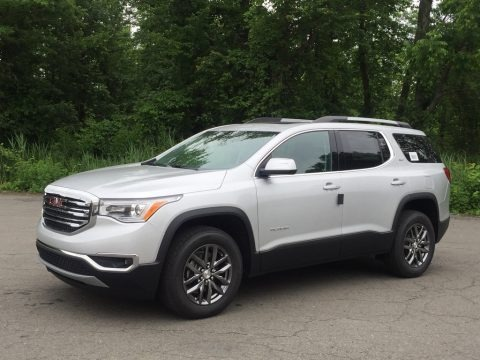 Quicksilver Metallic 2017 GMC Acadia SLT AWD