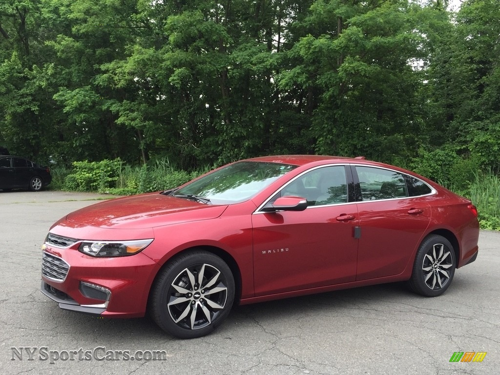 Cajun Red Tintcoat / Dark Atmosphere/Medium Ash Gray Chevrolet Malibu LT