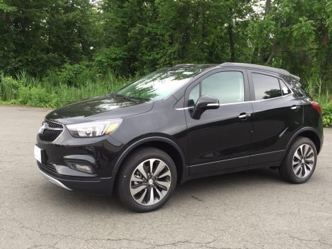Ebony Twilight Metallic 2017 Buick Encore Preferred II AWD