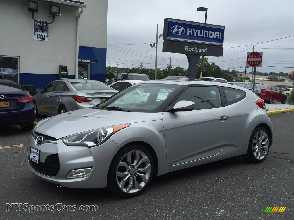 2012 Veloster  - Ironman Silver / Gray photo #1