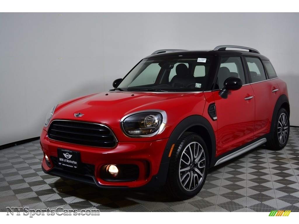 2017 Countryman Cooper ALL4 - Chili Red / Carbon Black photo #1