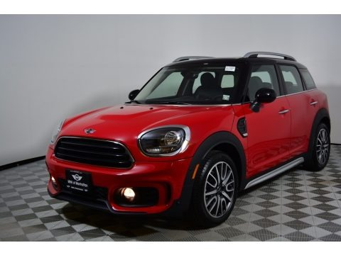 Chili Red 2017 Mini Countryman Cooper ALL4