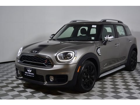 Melting Silver Metallic 2017 Mini Countryman Cooper S ALL4