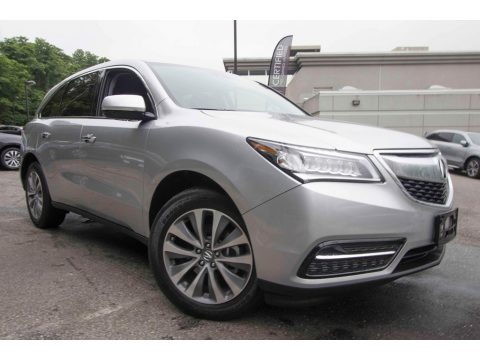 Silver Moon 2014 Acura MDX SH-AWD Technology