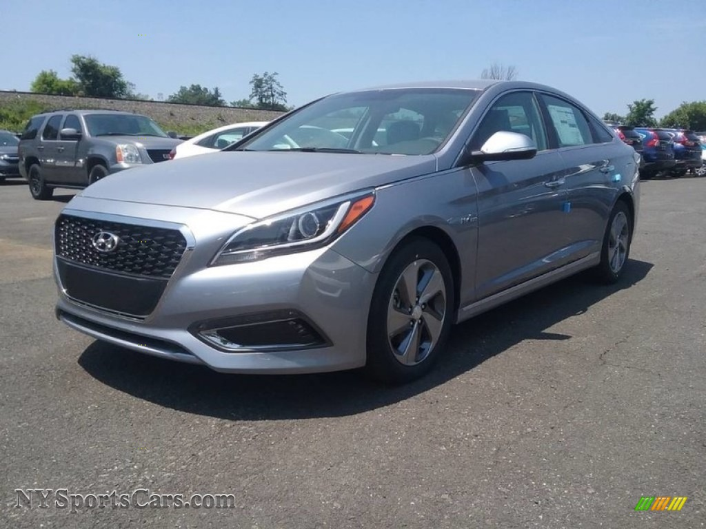 2017 Sonata Limited Hybrid - Starlight Silver / Gray photo #1