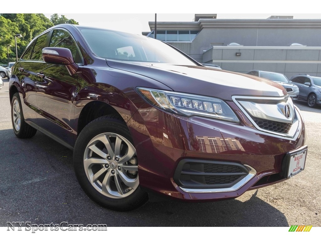Basque Red Pearl II / Parchment Acura RDX AWD