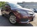 Acura RDX AWD Basque Red Pearl II photo #1