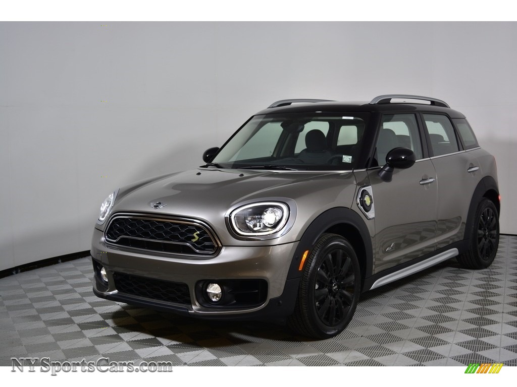 2018 Countryman Cooper S ALL4 - Melting Silver Metallic / Carbon Black photo #1