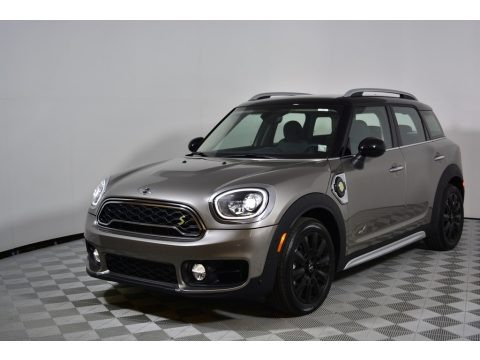 Melting Silver Metallic 2018 Mini Countryman Cooper S ALL4