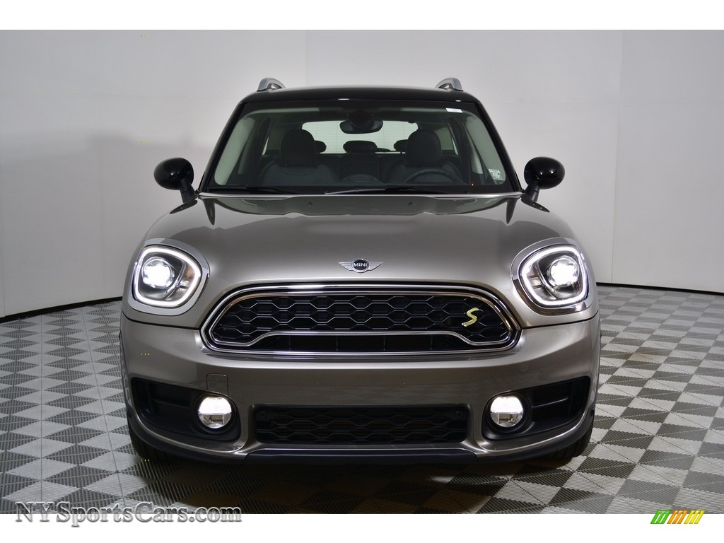 2018 Countryman Cooper S ALL4 - Melting Silver Metallic / Carbon Black photo #2