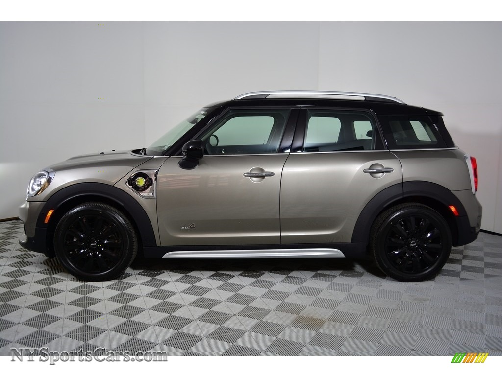 2018 Countryman Cooper S ALL4 - Melting Silver Metallic / Carbon Black photo #3
