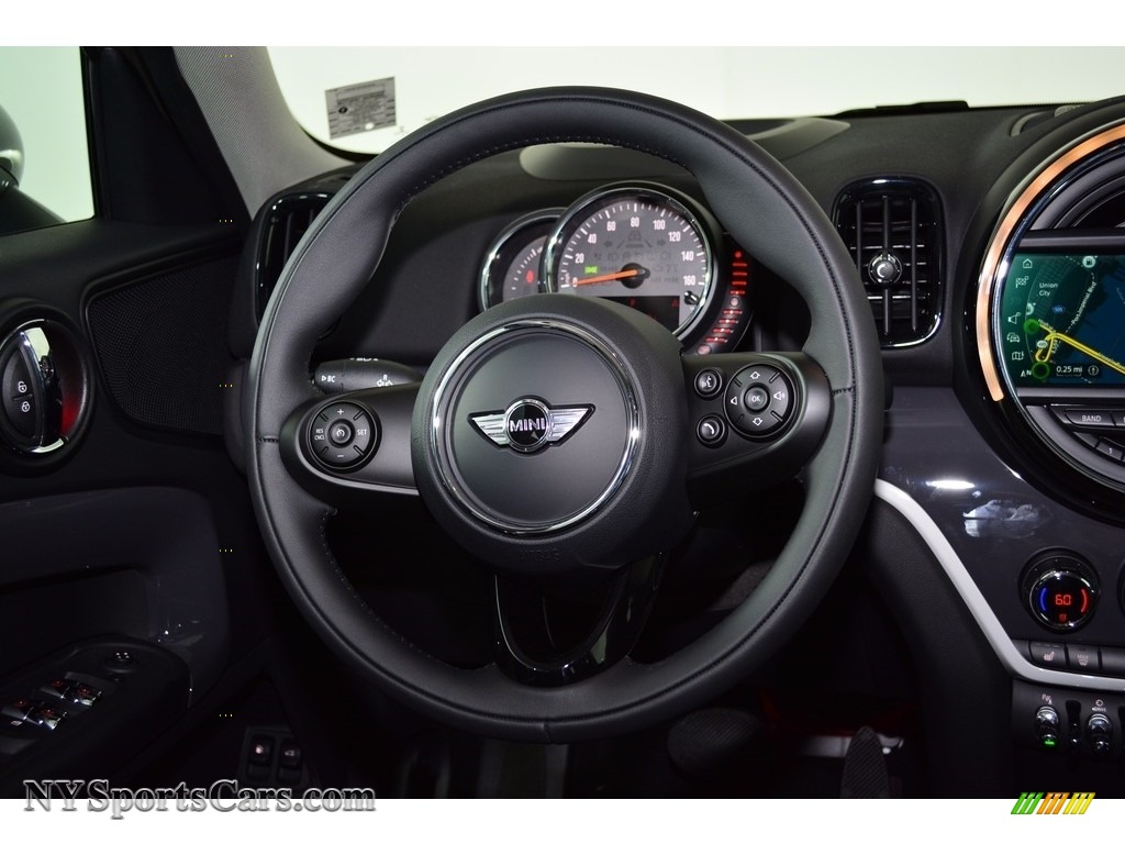 2018 Countryman Cooper S ALL4 - Melting Silver Metallic / Carbon Black photo #13