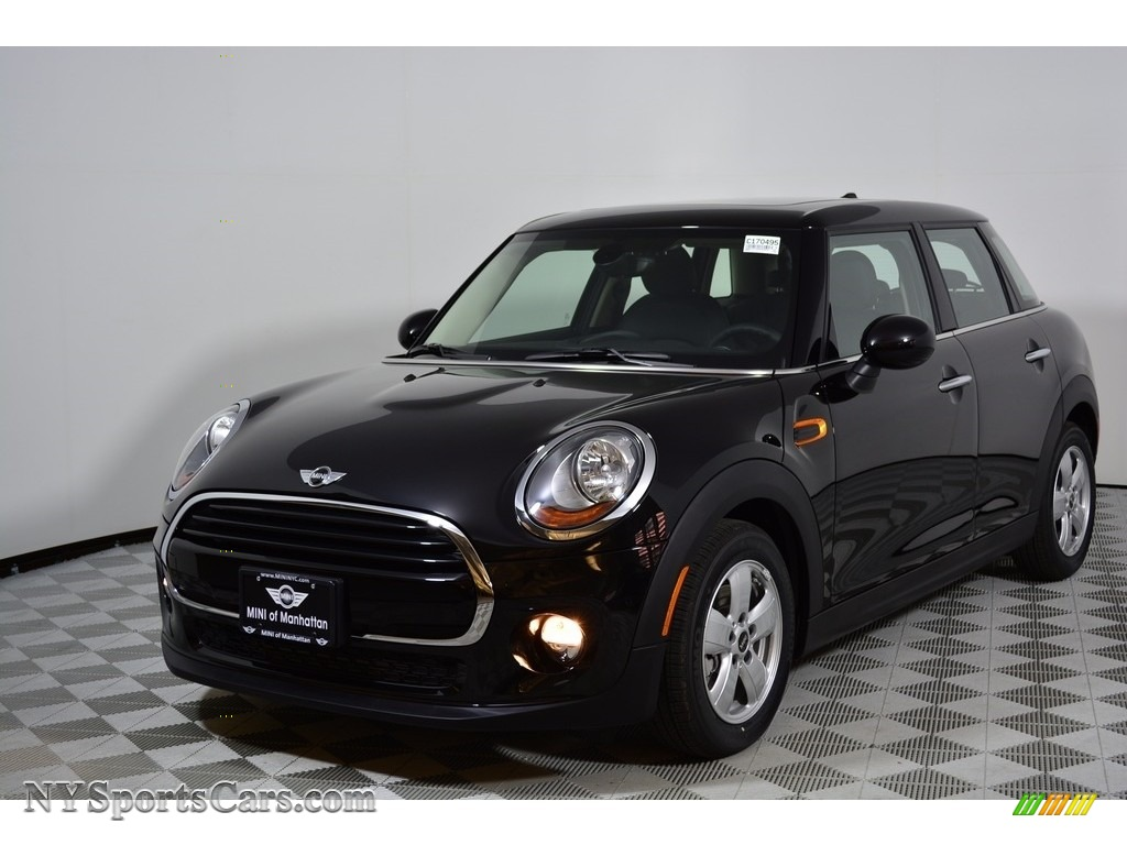 2017 Hardtop Cooper 4 Door - Midnight Black Metallic / Carbon Black photo #1
