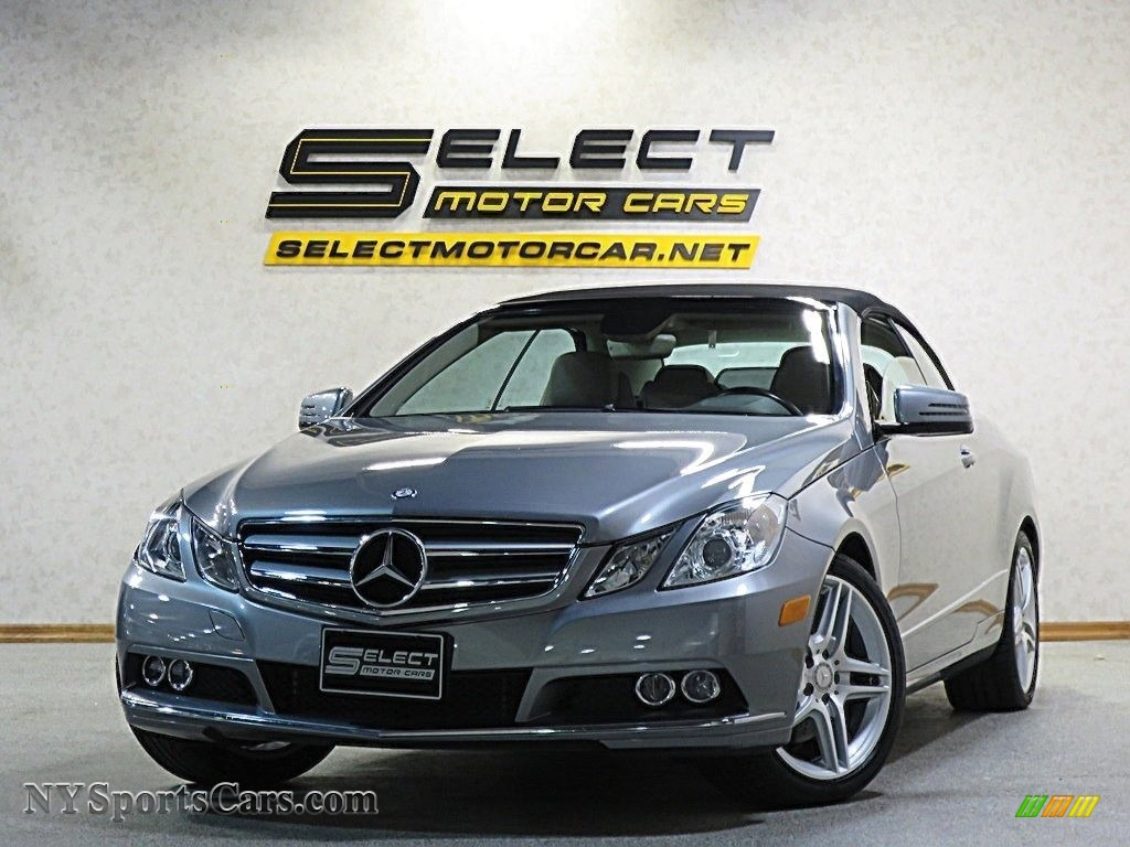 2011 E 350 Cabriolet - Palladium Silver Metallic / Almond/Mocha photo #1