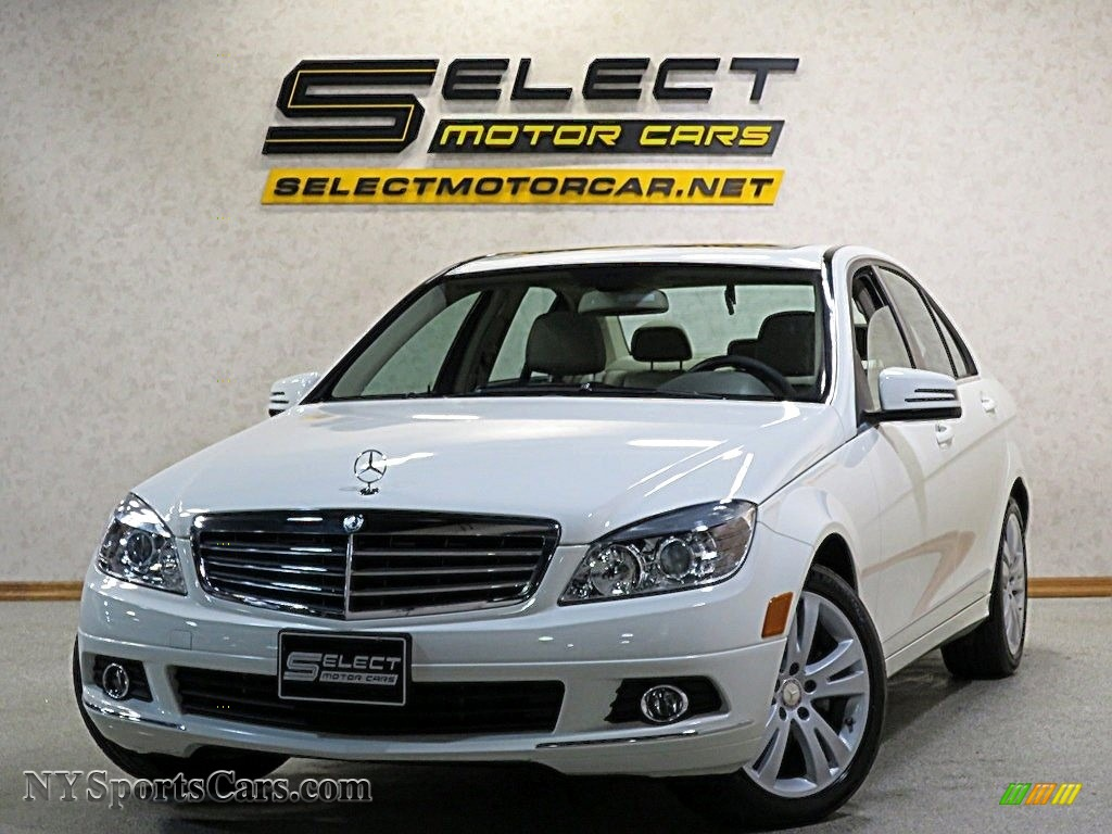 2011 C 300 Luxury 4Matic - Arctic White / Almond/Mocha photo #1