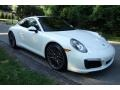 Porsche 911 Carrera 4S Coupe White photo #8