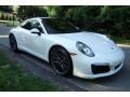 Porsche 911 Carrera 4S Coupe White photo #8