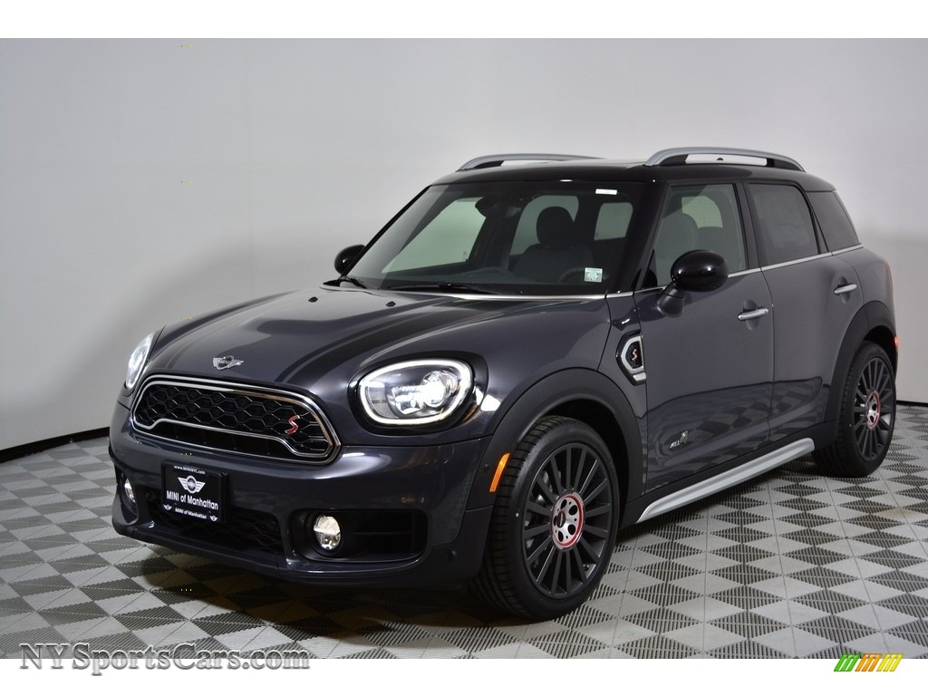 2017 Countryman Cooper S ALL4 - Thunder Grey Metallic / Carbon Black photo #1
