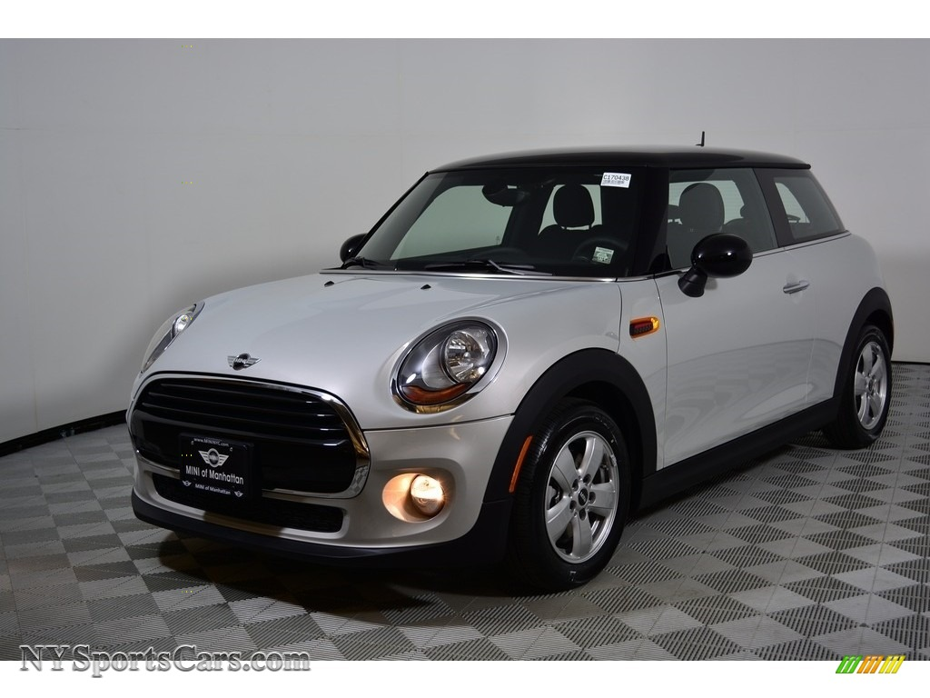 2017 Hardtop Cooper 2 Door - White Silver Metallic / Carbon Black photo #1