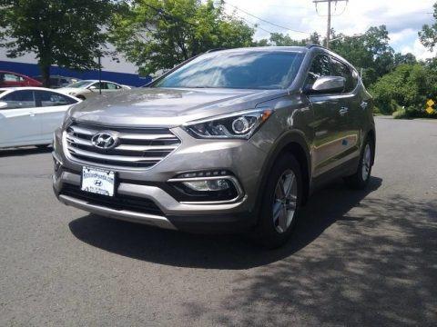 Gray 2018 Hyundai Santa Fe Sport