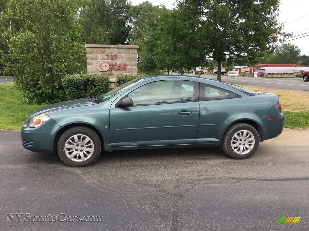 2009 Cobalt LS Coupe - Imperial Blue Metallic / Gray photo #1
