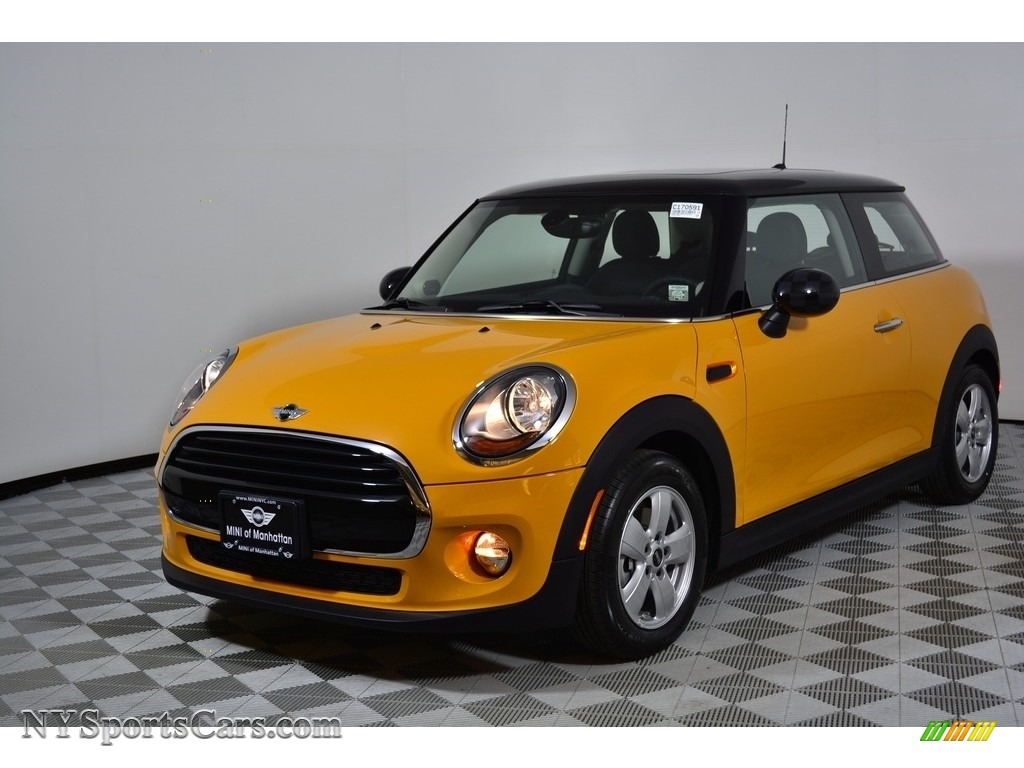 2017 Hardtop Cooper 2 Door - Volcanic Orange / Carbon Black photo #1