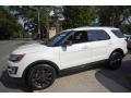 Ford Explorer XLT 4WD White Platinum photo #4