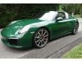 Porsche 911 Targa 4S Paint to Sample Irish Green photo #1