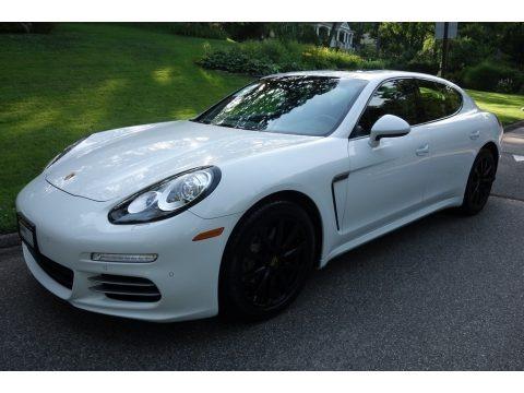 White 2015 Porsche Panamera 4S