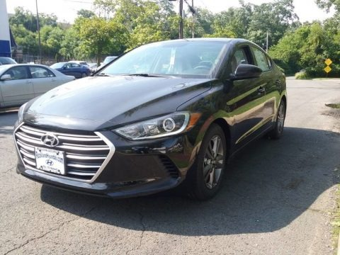 Phantom Black 2018 Hyundai Elantra Limited