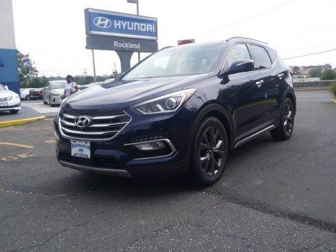 Nightfall Blue 2018 Hyundai Santa Fe Sport 2.0T AWD