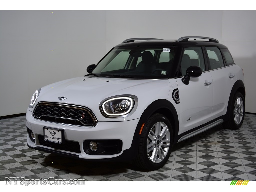 2017 Countryman Cooper S ALL4 - Light White / Carbon Black photo #1