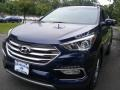 Hyundai Santa Fe Sport AWD Nightfall Blue photo #1
