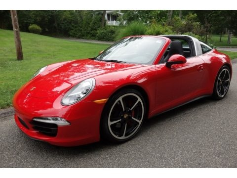 Guards Red 2016 Porsche 911 Targa 4S