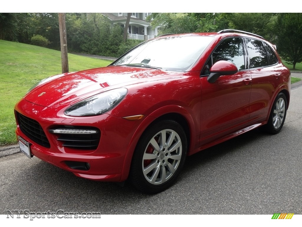 2014 Cayenne GTS - Carmine Red / Black photo #1