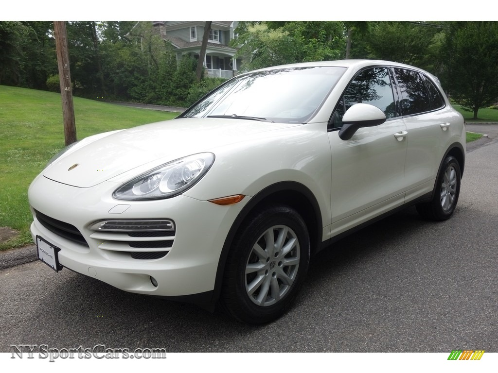 2011 Cayenne  - Sand White / Black photo #1