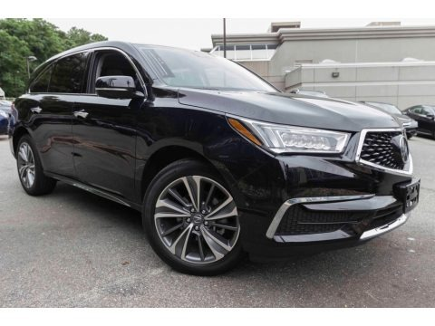 Crystal Black Pearl 2017 Acura MDX Technology SH-AWD