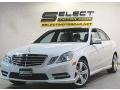 Mercedes-Benz E 350 4Matic Sedan Arctic White photo #1