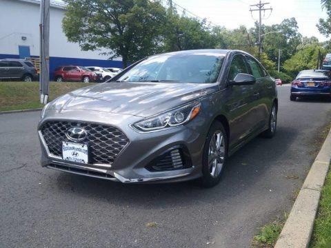 Machine Gray 2018 Hyundai Sonata Sport