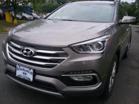 Gray 2018 Hyundai Santa Fe Sport 2.0T