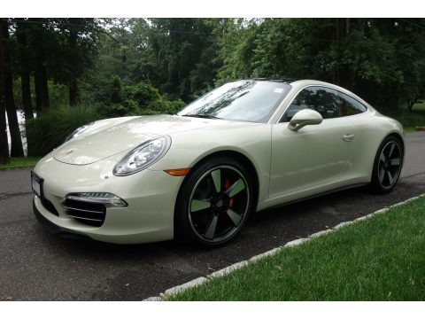 Anniversary Edition Geyser Gray 2014 Porsche 911 50th Anniversary Edition