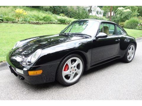 Black 1996 Porsche 911 Carrera 4S