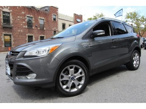 Sterling Gray 2014 Ford Escape Titanium 2.0L EcoBoost 4WD