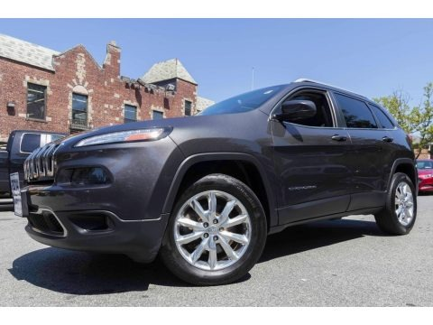 Granite Crystal Metallic 2014 Jeep Cherokee Limited 4x4