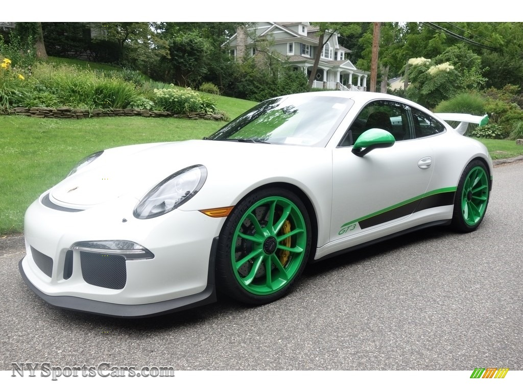 2015 911 GT3 - White / Black w/Alcantara photo #1