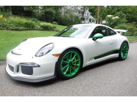 White 2015 Porsche 911 GT3